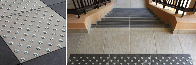 Desvres carrelages univers zone podotactile for Univers du carrelage